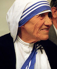 マザー・テレサの名言 Peace begins with a smile